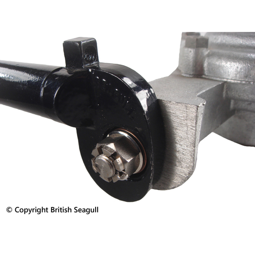 British seagull outboard tiller gear lever stud castle for Seagull outboard motor value
