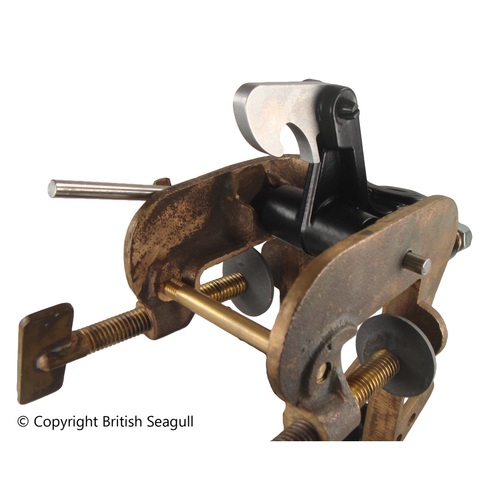 BRITISH SEAGULL OUTBOARD BRACKET SUPPORT LUG COMPLETE