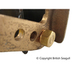 British Seagull Outboard Mounting Bracket Stud Nut Fitted to the Bracket