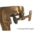 British Seagull Outboard Mounting Bracket Thumbscrew Fitted to the Bracket