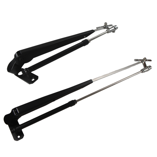 AFI Deluxe 18 to 24 Adjustable Length Black Stainless Steel Wiper Arm