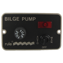 Rule 3-Way Illuminated Bilge Pump Switch