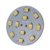 SMD LED 8-35v Rear Pin G4 30mm Bulb - Cool White