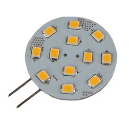SMD LED 8-35v Side Pin G4 30mm Bulb - Warm White