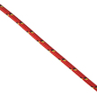 Marlow 12 Strand Red Excel Racing Dyneema SK78 Dinghy Cord - 4mm x 1m