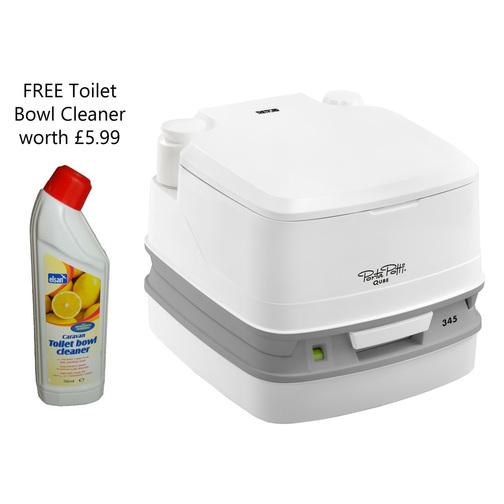 thetford porta potti qube 345 portable toilet sheridan. Black Bedroom Furniture Sets. Home Design Ideas