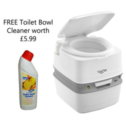 Thetford Porta Potti Qube 365 with FREE Toilet Bowl Cleaner