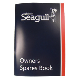 British Seagull Outboard Spares Book - Forty & Century Series