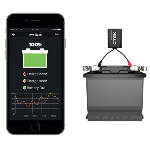 Battery Monitors For Boats : Ctek battery sense smart monitor sheridan marine