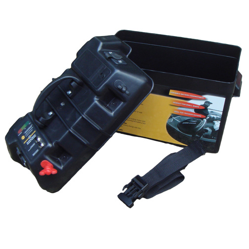 Minn kota electric outboard power centre battery box sheridan marine for Minn kota electric outboard motors