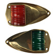 Low Profile Brass Navigation Lights