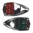 Low Profile Chrome Navigation Lights
