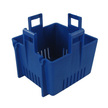 Rule Square Bilge Pump Blue Strainer Base