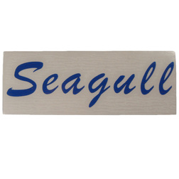 "British Seagull Outboard ""Seagull"" Label"