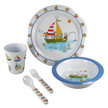 Freddie and Friends 5 Piece Children's Nautical Dining Set