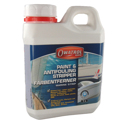 Solvent free paint stripper