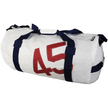 The Loft Sailcloth Large White Barrel Bag