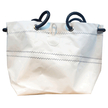 The Loft Sailcloth White Cube Bag