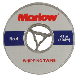 Marlow Whipping Twine No. 4 - White 0.8mm