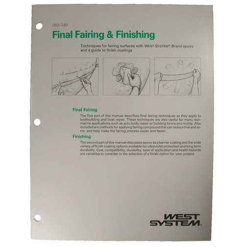 west system final fairing finishing epoxy guide sheridan marine rh sheridanmarine com Owner's Manual User Manual PDF