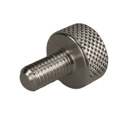 Stainless Steel M5 Knurled Thumb Screw