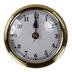 Aqua Marine 70mm Brass Clock