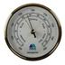 Aqua Marine 95mm Brass Barometer