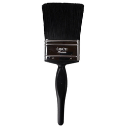 Cottam Precision Paint Brush with Stainless Steel Ferrule - 3""