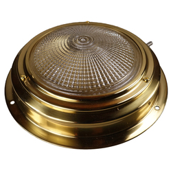 Brass 175mm Switched Cabin Light