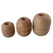 Ash Wood Parrel Beads