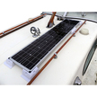 Freeman Cruiser Solar Panel Kit fitted to a cabin roof of a Freeman 23
