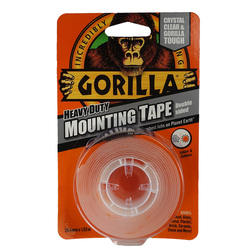 Gorilla Mounting Tape Crystal Clear Double-sided Tape