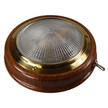 Teak Switched Cabin Light with External Switch
