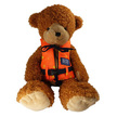 Teddy Bear Buoyancy Aid Lifejacket Fitted on a Bear
