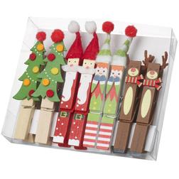Christmas Peg Set