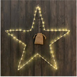 Large LED Christmas Wire Star