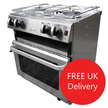 Neptune 4500 Marine Cooker with Oven, Hob & Grill Free Delivery
