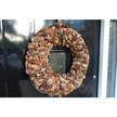 Autumnal Pinecone Christmas Wreath Hanging