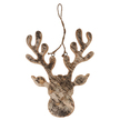 Birch Bark Moose Hanger