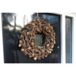 Woven Twig and Pinecone Christmas Wreath