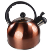 Stainless Steel 2 Litre Whistling Kettle - Copper
