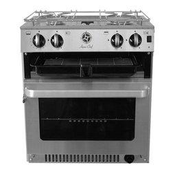 Aqua Chef 4520 Marine Cooker with Oven, Hob & Grill