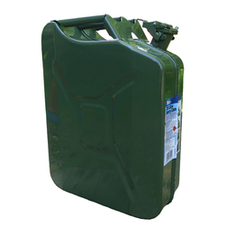 Green Metal 20 Litre Petrol Jerry Can