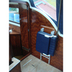 Freeman Navigator Seat Fitted in the Stored Position to a Freeman 22 with the Freeman Folding Seat Frame
