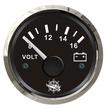 Voltmeter Gauge with Stainless Steel Bezel