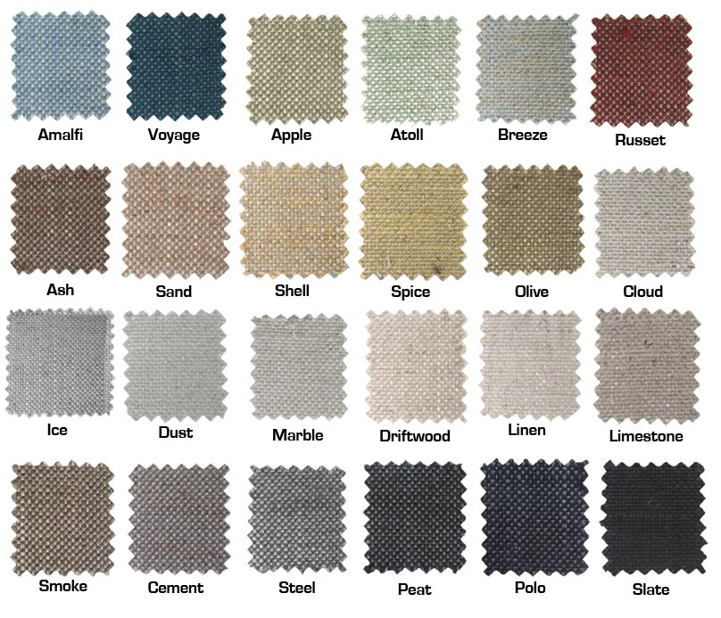 The Scandinavian look - choose from 25 colours in this range.